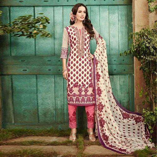 f054b1ed37 Cotton Printed Semi-Stitched Pakistani Lawn Suit, Rs 1100 /piece ...