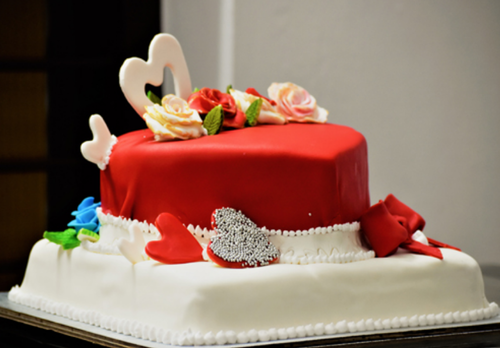 Anniversary Cake Two Layer Fondant At Rs 2500 Piece Cream Cake