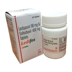 Ledifos Ledipasvir And Sofosbuvir Tablets