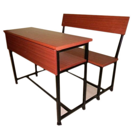 Wooden Ms 3 Seater School Desk