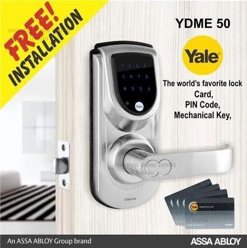 Yale Digital Lock Yale Ydme 50 Digital Door Lock Manufacturer From Ahmedabad