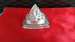 Parad (mercury) Made Solid Maha Meru Shree Yantra