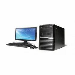 Desktop Acer Black Computer, Screen Size: 18.5 Inch