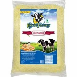 Cheese Factory Pizza Topping Diced for Restaurant, Pack Size: 1 kg