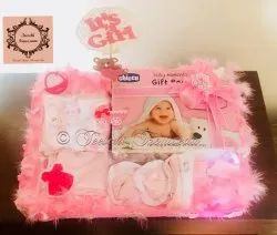 Pink Gift Kids Hampers