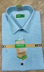 Acb Plain Casual Wear Full Sleeve Mens Cotton Shirt Machine Wash Size S Xl Id 22481286355