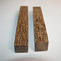 Rectangular Natural Black Palm Wood Pen Blanks