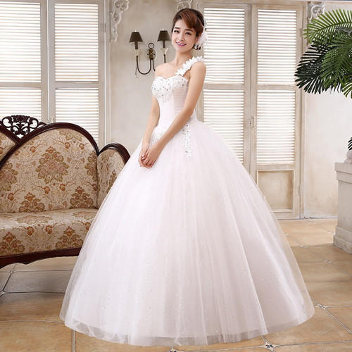 e37dfb12bfb5 White Tulle Christian Wedding Gown Catholic Gowns Wedding Frock With  Sleeves H48 Extra Sleeves