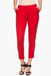 Ladies Haute Curry Pocket Solid Pants