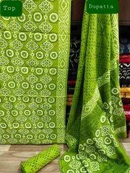 Cotton Unstitched Salwar Suit Set