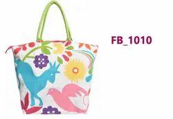 Printed Jute Fashion Bag