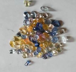 Mix Sapphire lot 2-3 carat size -174 carat-no heat