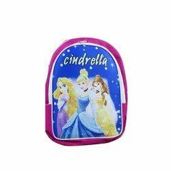 Polyester Printed Cinderella Girls School Bag