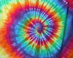 Cotton MANY COLOURS Tie Dye Fabrics