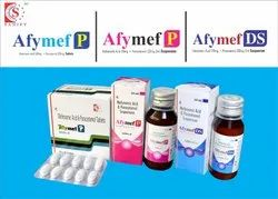 Mefenamic acid 50mg  Paracetamol 125mg Oral Suspension