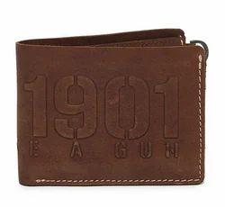 Brown 100% Genuine Leather Rlcwai000003 Mlg Wallet