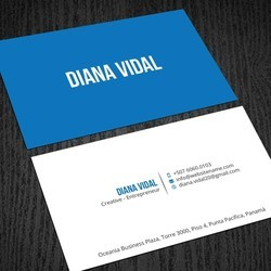 Cardboard Personal Business Card, Size: 84 x 54 mm