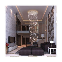 Ractangle Long Chandelier