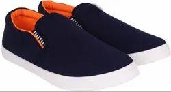 Blue Men Footwear, Size: 40