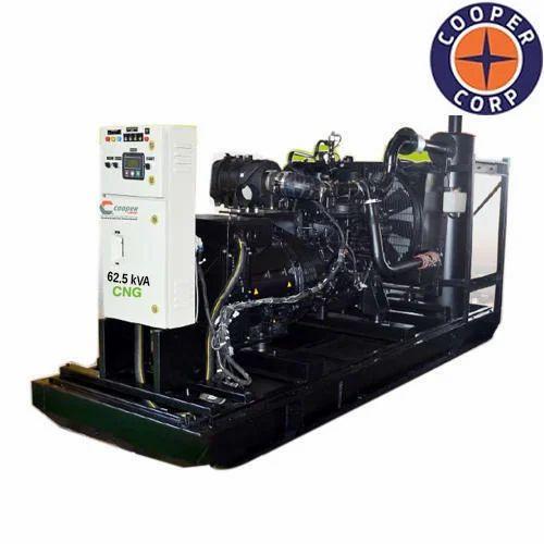 CCA162.53D02 Cooper 62.5 kVA CNG Gas Generator