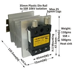 150 AMP AC TO AC SOLID STATE RELAY