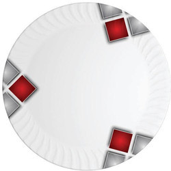 melamine magnetic dish red square