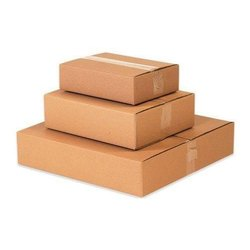 Cardboard Rectangle Plain Corrugated Boxes, Ply: 3 - 7 Ply, Box Capacity: 6-10 Kg