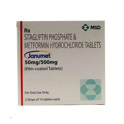 Janumet 50 mg/500 mg Tablets