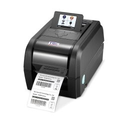 Black and White TSC TX 600 Desktop Barcode Printer