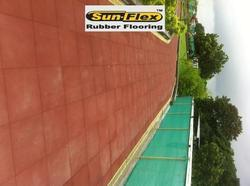 Jogging Rubber Tiles