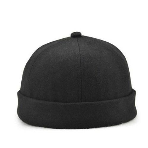 1b86f92a2ca15f Korean Trend No Eaves Flanging Frdoras Hats Spring Summer Street Melon Hats  For Women And Men