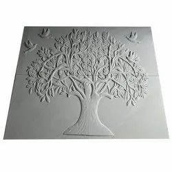 White Decoration Stone Murals
