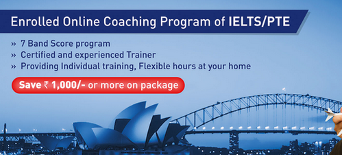 Enrolled Online Coaching Program For PTE And IELTS in Sola