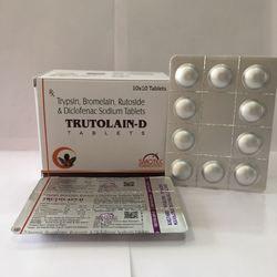 Trypsin Bromelain Rutoside & Diclofenac Sodium Tablets