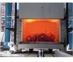 Oil Fired Bogie Hearth Furnace