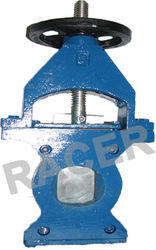 Sandwich Type Cast Iron Pulp Valve