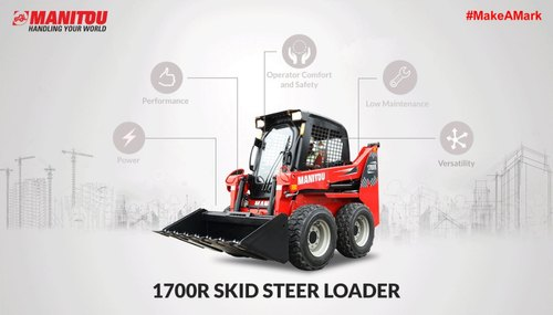 Manitou 1700R Skid Steer Loader