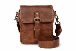 Crunch Men One Bond Street Leather Bag