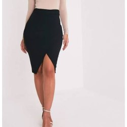 Plain Pencil Skirt