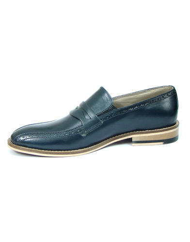 43744b556a5f4b Formal Black New Latest Fashionable Stylish Leather Shoes, Size: 8 And 9