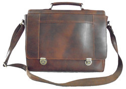 Black And Tan Leather Briefcases