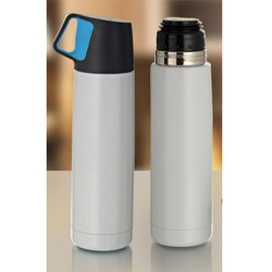 500 ml White Body Stainless Steel Flask