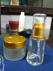 25ml Clear Glass Serum Bottle