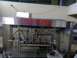 Lubricating Oil Jar Filling Machine