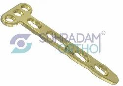 2.4/2.7mm LCP T Dorsal Distal Radius Locking Plate 3 Hole Head