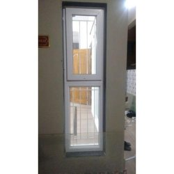 Vertical UPVC Glass Window