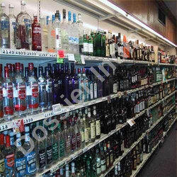 Liquor Store Wine Racks