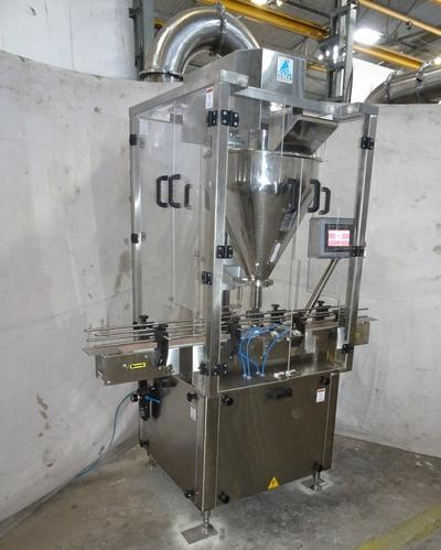 Prism Automatic Single Head Auger Type Powder Filler Machine