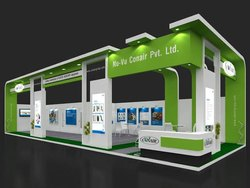 Wodden & PLY Color Work Exhibition Stall