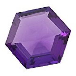 Amethyst Glass Gemstone